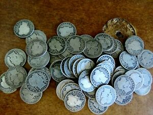 Nice Problem Free Barber Silver Quarters ALL COINS ARE GOOD OR BETTER