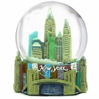 NYC Landmark Mini Snow Globe - New York City 3D Skyline Souvenir Travel Gift