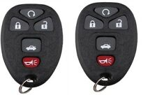 New Pair of Keyless Entry Remote Start Transmitter Fob Alarm  Fits GM 22733524