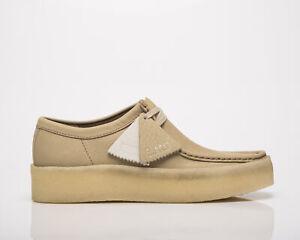 Clarks Originals Wallabee Cup Men's Maple Nubuck Casual Lifestyle Shoes Boots