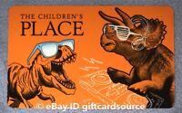 "THE CHILDREN'S PLACE GIFT CARD ""T-REX DJ MIXER DINOSAUR/RAPTORS"" NO VALUE"