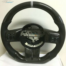 Carbon Fiber Flat Bottom Special Customized Steering Wheel for 2018 Jeep Wrangle