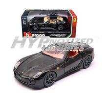 BBURAGO 1:24 FERRARI 599 GTO DIE-CAST BLACK 18-26019