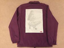 Supreme S/S 17-Digi Coaches Jacket-MEDIUM-Violet