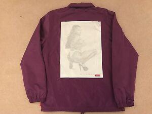 Supreme S/S 17 - Digi Coaches Jacket - Medium - Purple