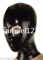 latex Rubber Gummi Mask Fancy Dress Hood Kostüm Masque Maske Size XS-XXL