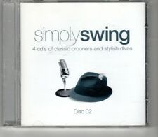 (HO637) Simply Swing, 15 tracks various artists - 2005 CD 2 only