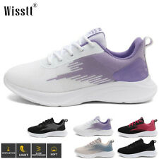 New listing Womens Casual Athletic Travel Flat Comfort Sports Shoes Walking Sneakers US 3-12