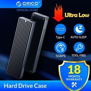 ORICO M.2 NVME/SATA NGFF PCIe SSD Enclosure M/B Key USB3.1 Type-C External Box