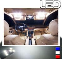 PACK 18 Ampoules LED Blanc BMW E39 série 5 intérieur plafonnier Portes Coffre