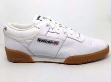 1fa97ab28 Mens Reebok Classic Workout Lo White Gum 63978 Size 8.5