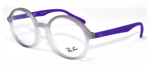 RAY BAN AUTHENTIC MATTE VIOLET FROST FRAME EYEGLASSES RB 7075 5600 49-20 145