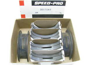 New King Engine Bearing Kit .010//.010 Rod Main /& Cam Bearings compatible with 1977 /& UP Ford 351W 351