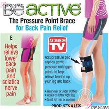 Black Be active Brace Point Pad Leg for Back Pain Acupressure Sciatic Nerve