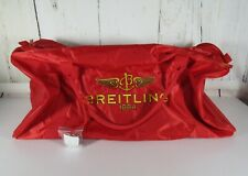 NEW RED BREITLING EXTRA LARGE DUFFLE TRAVEL BAG