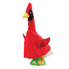 Cardinal Goose Outfit - Clothes Garden Cute Decor Outdoor Home Lawn Statues