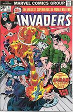 The Invaders Comic Book #4, Marvel Comics 1976 VERY FINE/NEAR MINT