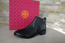 Tory Burch T 38,5 8,5 bottines chaussures shoes 31148341 Noir NEUF