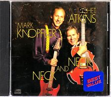 Mark Knopfler & Chet Atkins : Neck and Neck CD (1990 Guitar Duets) DIRE STRAITS