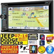 07 &Up Chrysler Jeep Dodge Navigation Usb Bluetooth Cd/Dvd Car Radio Stereo Pkg