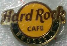 Hard Rock Cafe BRUSSELS Round LOGO Magnet (not opener)