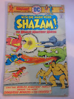 Vintage OCT 1975 DC Shazam! Worlds Mightiest Mortal Comic Book #20 Fair Cond