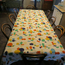 "RARE! ""FIESTA FABRIC"" Tablecloth - Dakotah Table Linens, 1990s - Large - RARE!"