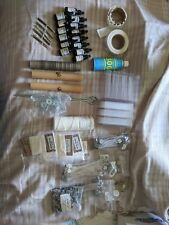 Large Lot of Candle Making Supplies - Wicking, Molds, Dyes, and More