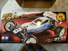 New Nib Dt-03 Tamiya Neo Fighter/Mighty Frog Kit w/Motor and Esc, ships from Usa