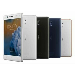 """Nokia 3 Unlocked Android Smartphone 5.0"""" 16GB 8MP Grade A Excellent Condition"""