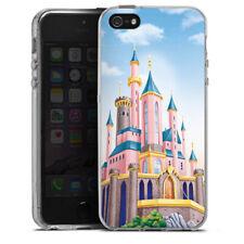 Apple iPhone 5 Silikon Hülle Case - Disney Castle