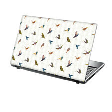 """15.6"""" TaylorHe Laptop Vinyl Skin Sticker Decal Protection Cover Birds CF02"""
