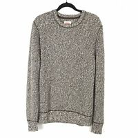 Levi's Men's Brown & White Pull Over Knit Sweater Crew Neck Size Large