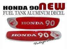 HONDA CUB C90 CM90 CM91 FUEL TANK **ALUMINUM DECAL**