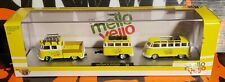 M2 MACHINES MELLOW YELLO ** 1960 VW DOUBLE CAB & 1960 VW MICROBUS DELUXE **