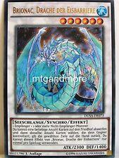 Yu-Gi-Oh - #073 Brionac, Dragon of eisbarrie-Dusa-Duelist Saga-Ultra Rare
