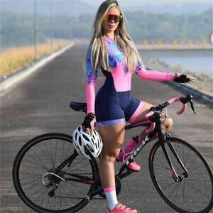 Triathlon Suit Women's Cycling Skinsuit Racing Sport Bike Set Cycling Clothing