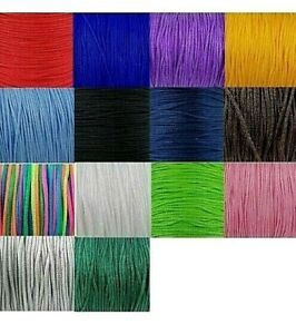 10m x braided Nylon Knotting thread 1.8mm Thick Knotted bracelets cord