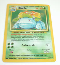 Pokemon Base Set - Bisaflor Holo - 15/102 - Near Mint - Deutsch
