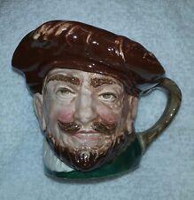 Royal Doulton Toby Jug Mug Creamer Sir Francis Drake Drum Feather