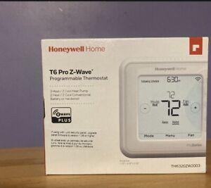 Honeywell TH6320ZW2003 T-6 Z-Wave Thermostat - White