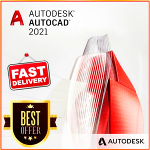 Autodesk AutoCad 2021✔️Full Version✔️ Lifetime ✔️ Fast Delivery✔️ Hot Price ✔️