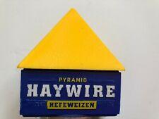 BEER TAP HANDLE HEFEWEIZEN PYRAMID HAYWIRE