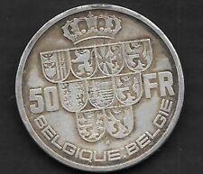 50 francs Ag Léopold III 1939 FR-FL
