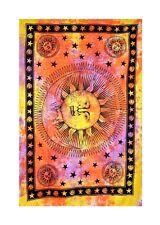 Indian Tapestry Sun Moon Wall Hanging Mandala Hippy Gypsy Bohemian Picnic Sheet