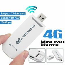 150mbps 4G LTE Mobile Hotspot USB Dongle Outdoor Wireless WIFI Internet Card BE#