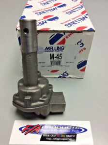 Melling M-45 Chevy 235 261 1954 Through 1962 6 Cylinder Engines Oil Pump