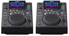 2 x GEMINI MDJ-500 controller di supporti professionali DJ USB (Coppia)