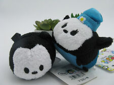 Disney Oswald&Oswald's girlfriend Ortensia tsum tsums mini plush toy 2pcs doll