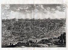 KAIRO - sehr schöne Ansicht Pieter van der Aa um 1730 - Original!